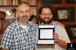 P. Cresta e C. Lomanto premiati. Ph. Cristiano Chianese