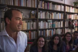 """Gli allievi del laboratorio """"Il Teatro cerca Critica"""" Foto Cesare Abbate"""