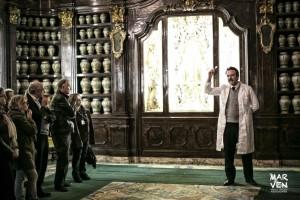 Peppe Romano nel ruolo di Moscati