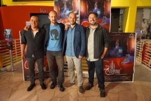 I quattro registi in occasione della prima napoletana del film