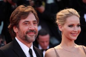 Javier Bardem e Jennifer Lawrence