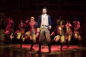 Il cast londinese di Hamilton
