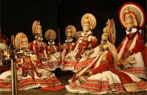Danzatori di kathakali