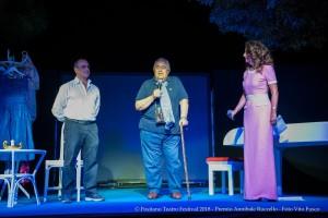 Il sindaco De Lucia insieme al direttore D'Andrea. Foto Vito Fusco