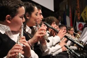 """L'orchestra giovanile """"Sanitansamble"""" di Napoli"""