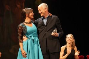 Chiara Baffi e Peppe Servillo
