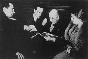 Eduardo De Filippo e Luigi Pirandello