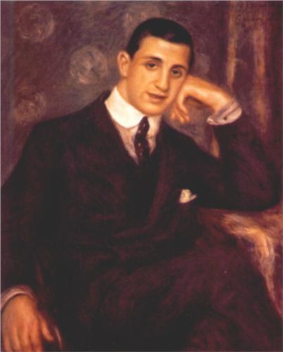 """Ritratto di Henry Bernstein"" di Pierre-Auguste Renoir"