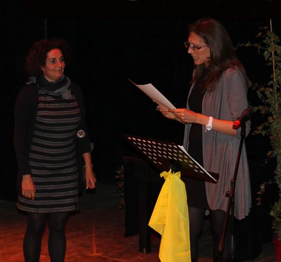 Marina Rippa ritira il Premio Landieri per Aida Talliente