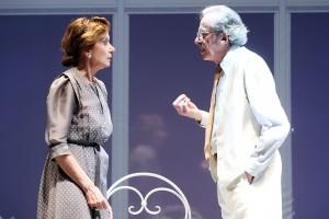 Nella foto Mariano Rigillo e Anna Teresa Rossini in Erano tutti miei figli