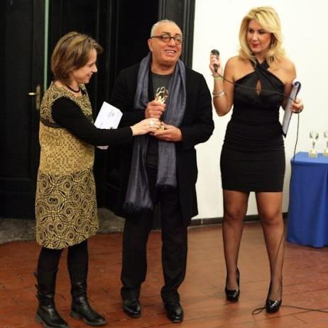 La consegna del Premio alla carriera a Peppe Barra