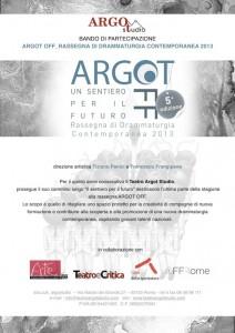 Bando Argot Off 2012