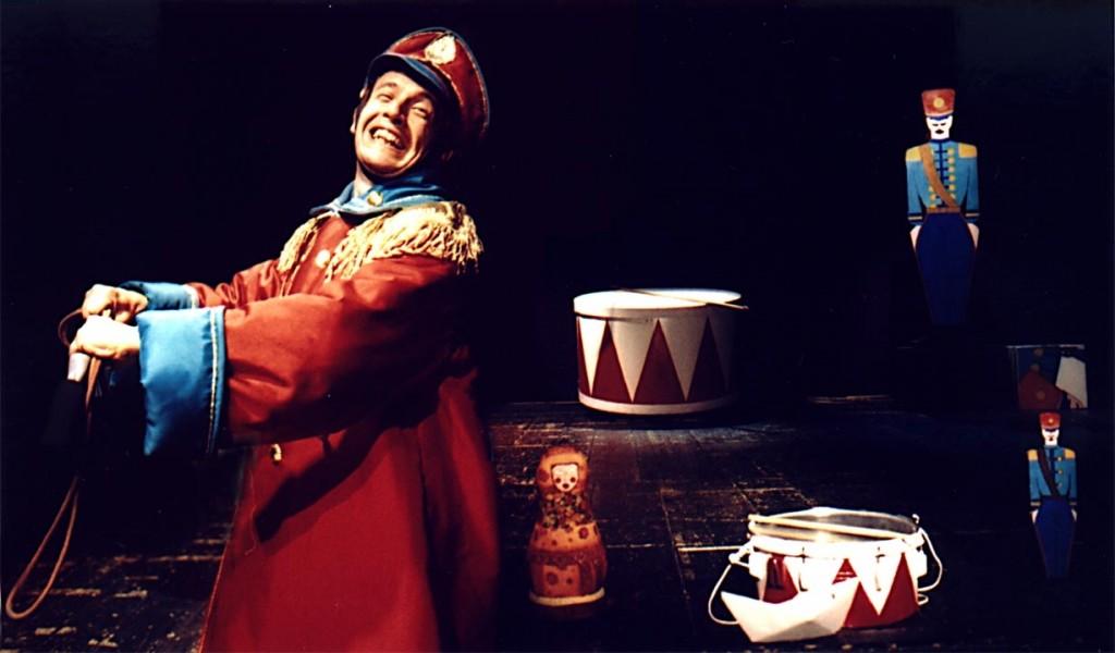 Una immagine dello spettacolo (foto di Roberto Di Bello)