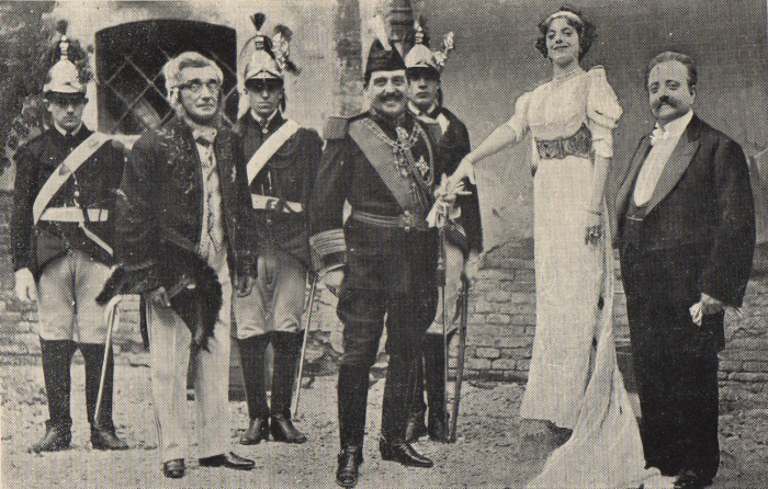 La compagnia Galli-Guasti-Bracci nel 1911