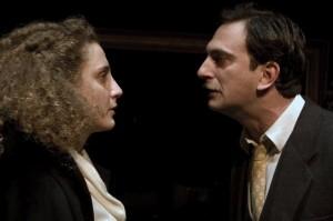 """Giorgia Coco e Luca Iervolino in """"Casa di Bambola"""" di Ibsen."""