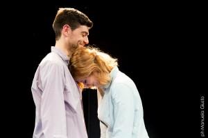 Davide Gagliardini e Sara Putignano. Foto M. Giusto