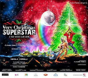 Very Christmas Superstar al Théâtre de Poche
